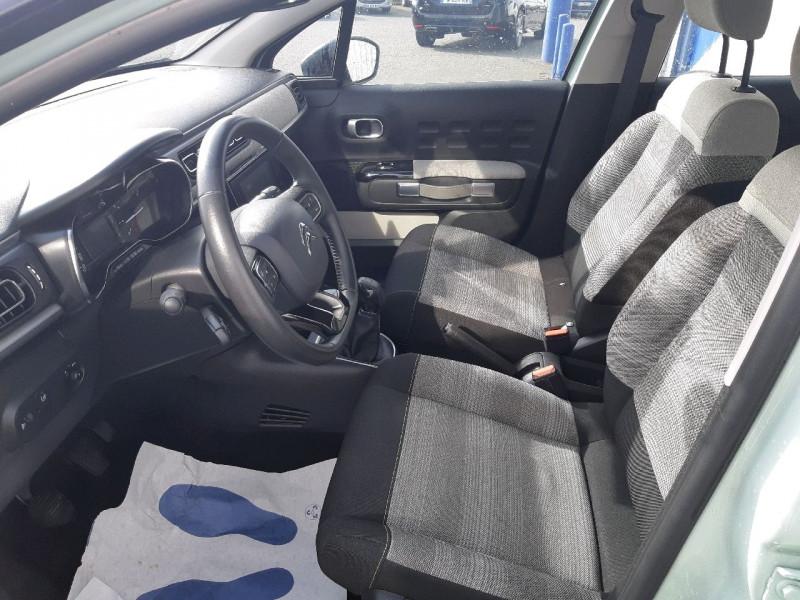 Photo 7 de l'offre de CITROEN C3 PURETECH 82CH SHINE à 11290€ chez Carlyss automobiles Vitré
