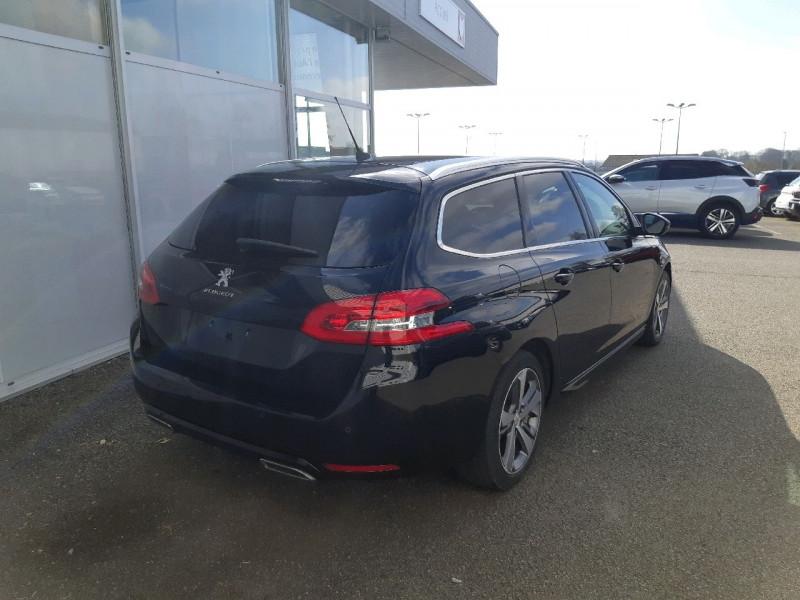 Photo 3 de l'offre de PEUGEOT 308 SW 2.0 BLUEHDI FAP 150CH GT LINE EAT6 à 13790€ chez Carlyss automobiles Vitré