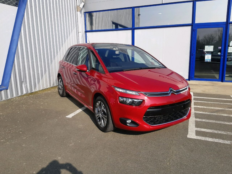 Citroen C4 PICASSO BLUEHDI 150CH EXCLUSIVE S&S EAT6 Diesel ROUGE RUBI Occasion à vendre