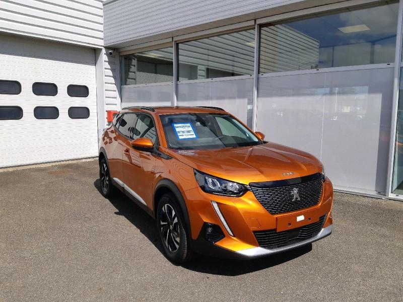 Peugeot 2008 1.2 PURETECH 100CH S&S ALLURE PACK Essence ORANGE FUSION Occasion à vendre