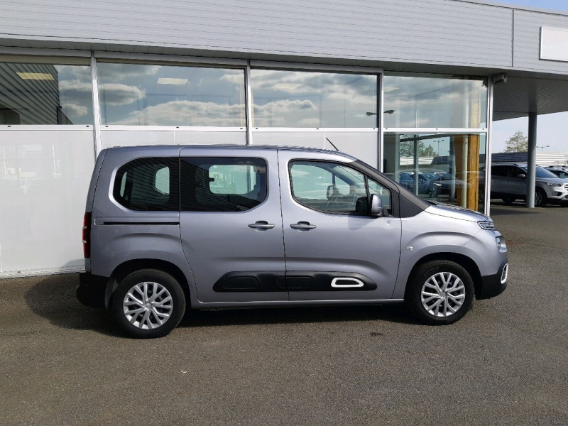 Photo 2 de l'offre de CITROEN BERLINGO M BLUEHDI 100CH S&S FEEL à 18990€ chez Carlyss automobiles Vitré