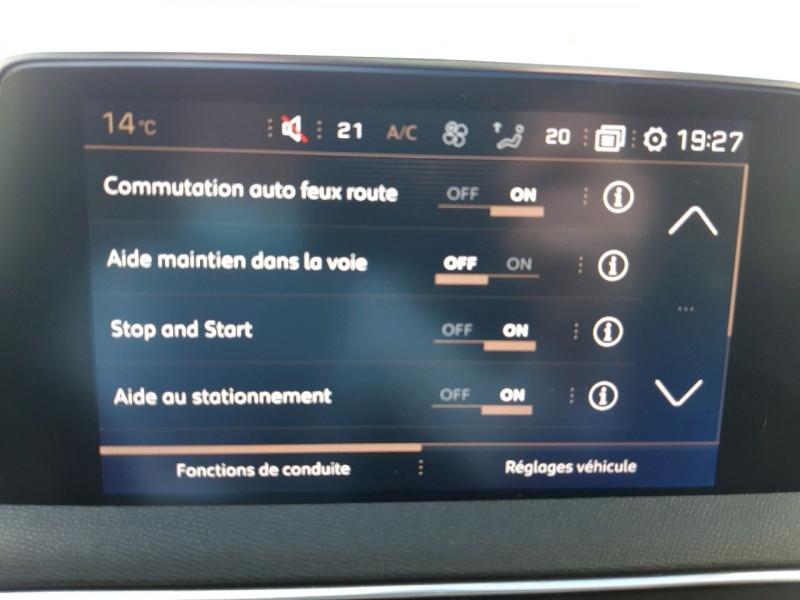 Photo 13 de l'offre de PEUGEOT 5008 1.5 BLUEHDI 130CH S&S GT LINE EAT8 à 31490€ chez Carlyss automobiles Vitré
