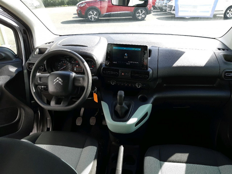 Photo 7 de l'offre de CITROEN BERLINGO M BLUEHDI 100CH S&S FEEL à 18990€ chez Carlyss automobiles Vitré