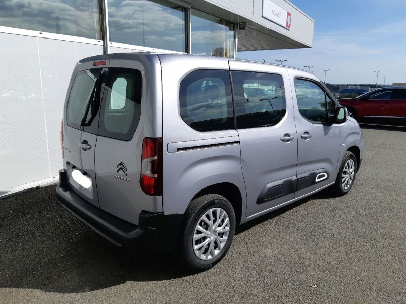 Photo 4 de l'offre de CITROEN BERLINGO M BLUEHDI 100CH S&S FEEL à 18990€ chez Carlyss automobiles Vitré
