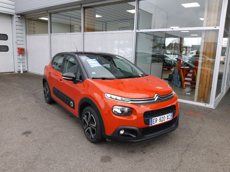 Citroen C3 PURETECH 110CH SHINE BUSINESS S&S Essence ORANGE Occasion à vendre