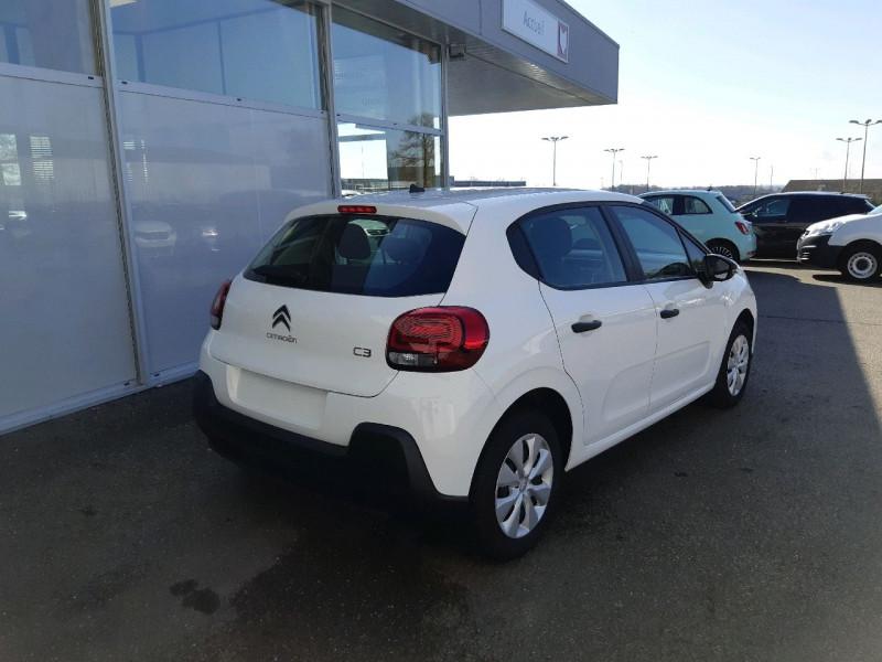 Photo 3 de l'offre de CITROEN C3 BLUEHDI 100CH FEEL S&S à 11790€ chez Carlyss automobiles Vitré