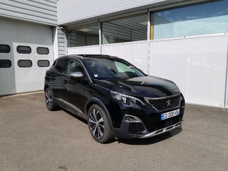 Peugeot 3008 2.0 BLUEHDI 180CH GT S&S EAT6 Diesel NOIR Occasion à vendre