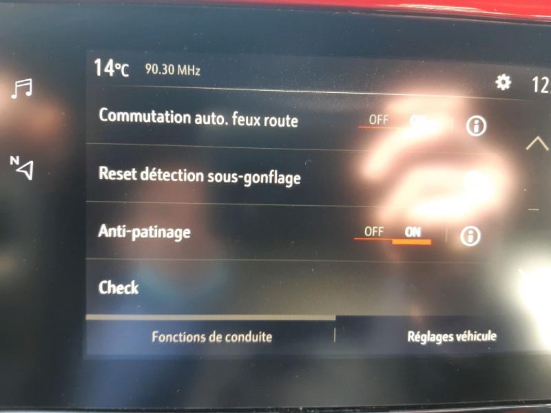 Photo 13 de l'offre de OPEL CORSA 1.2 TURBO 130CH GS LINE BVA à 18490€ chez Carlyss automobiles Vitré