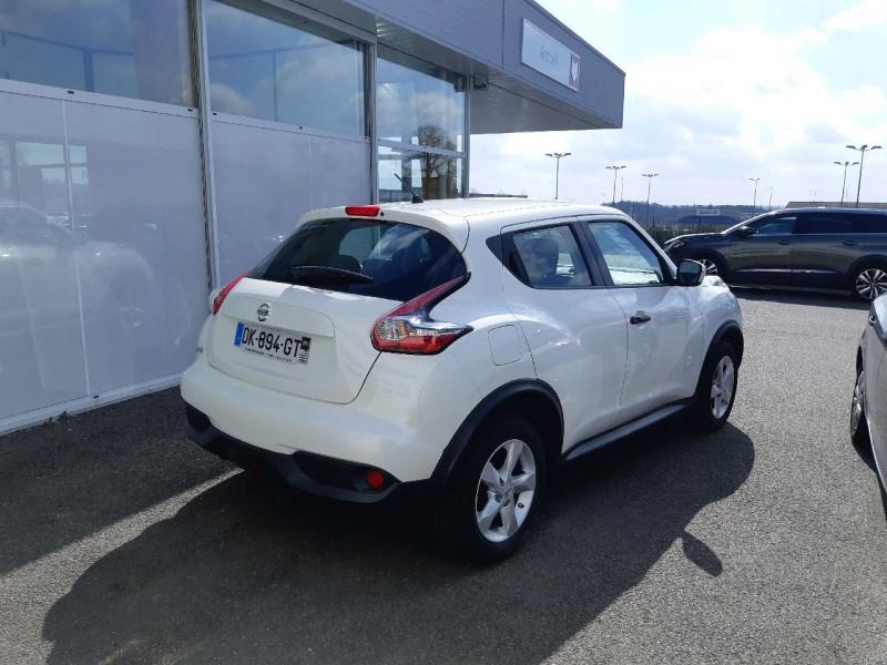 Photo 3 de l'offre de NISSAN JUKE 1.6 94CH VISIA PACK à 8990€ chez Carlyss automobiles Vitré