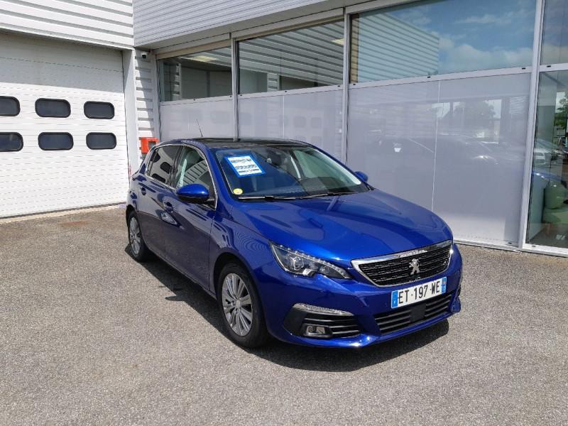 Peugeot 308 1.5 BLUEHDI 130CH S&S ALLURE BUSINESS Diesel BLEU F Occasion à vendre