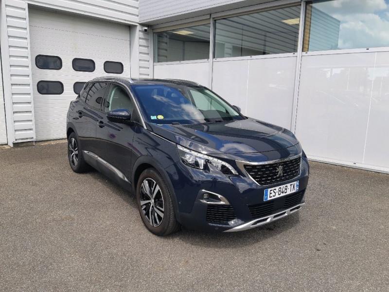 Peugeot 3008 2.0 BLUEHDI 150CH ALLURE BUSINESS S&S Diesel GRIS HURRICANE Occasion à vendre