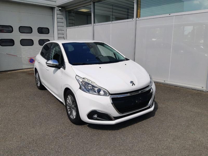 Peugeot 208 1.6 BLUEHDI 100CH ALLURE 5P Diesel BLANC Occasion à vendre