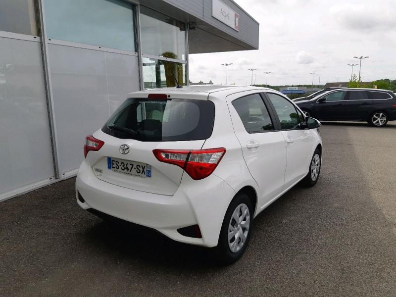 Photo 3 de l'offre de TOYOTA YARIS 69 VVT-I FRANCE 5P à 9490€ chez Carlyss automobiles Vitré