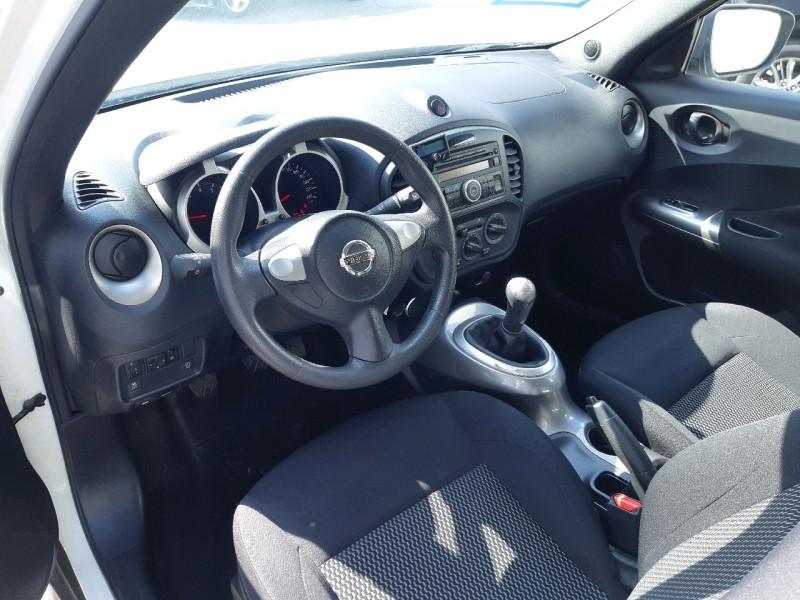 Photo 6 de l'offre de NISSAN JUKE 1.6 94CH VISIA PACK à 8990€ chez Carlyss automobiles Vitré