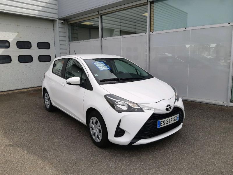 Toyota YARIS 69 VVT-I FRANCE 5P Essence BLANC Occasion à vendre
