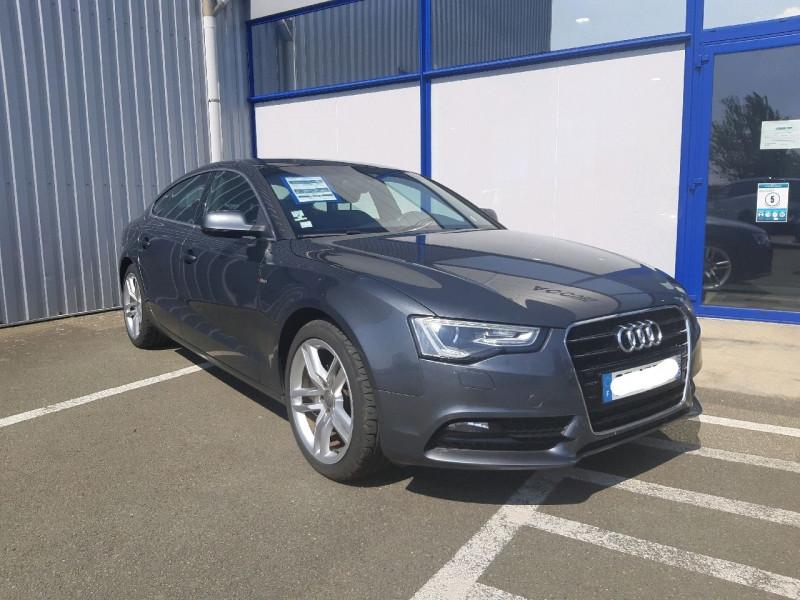 Audi A5 SPORTBACK 2.0 TDI 177CH S LINE Diesel GRIS F Occasion à vendre