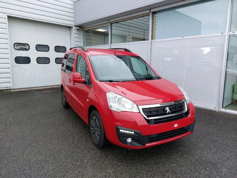 Peugeot PARTNER TEPEE 1.6 BLUEHDI 100CH ACTIVE S&S ETG6 Diesel ROUGE ADEN Occasion à vendre