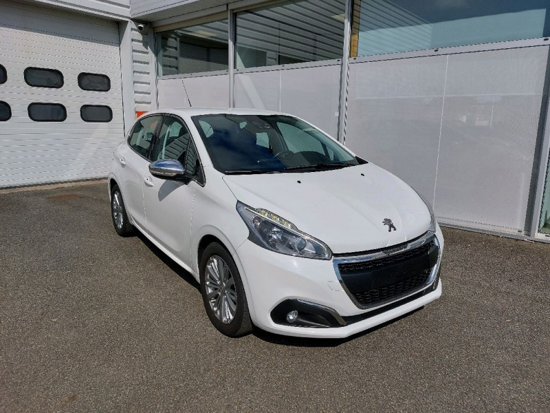 Peugeot 208 1.2 PURETECH 110CH ALLURE S&S EAT6 5CV 5P Essence BLANC Occasion à vendre