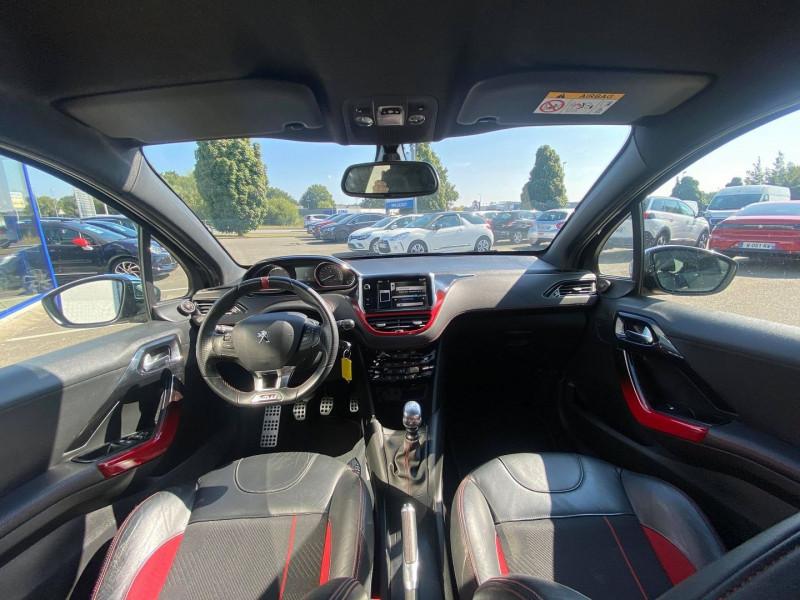 Photo 13 de l'offre de PEUGEOT 208 1.6 THP 200CH GTI 3P à 12990€ chez Carlyss automobiles Vitré