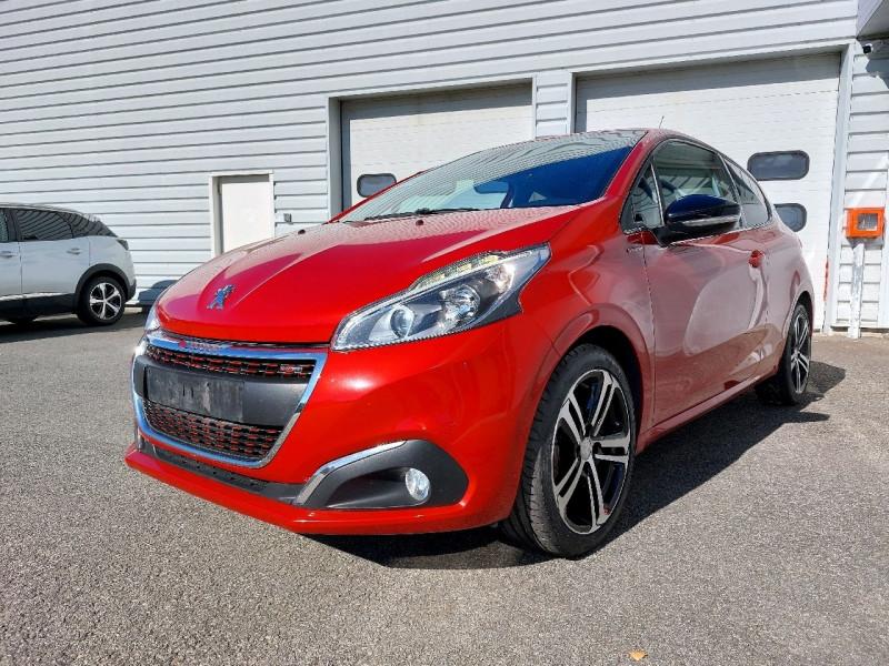 Photo 2 de l'offre de PEUGEOT 208 1.2 PURETECH 110CH GT LINE S&S 3P à 10290€ chez Carlyss automobiles Vitré