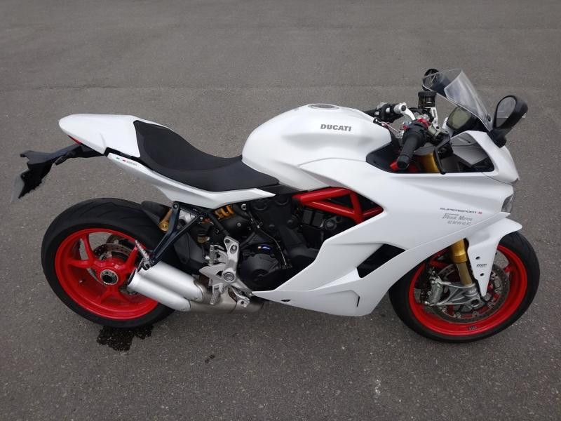 Ducati SuperSport 939 S 1ERE MAIN Essence BLANCHE Occasion à vendre