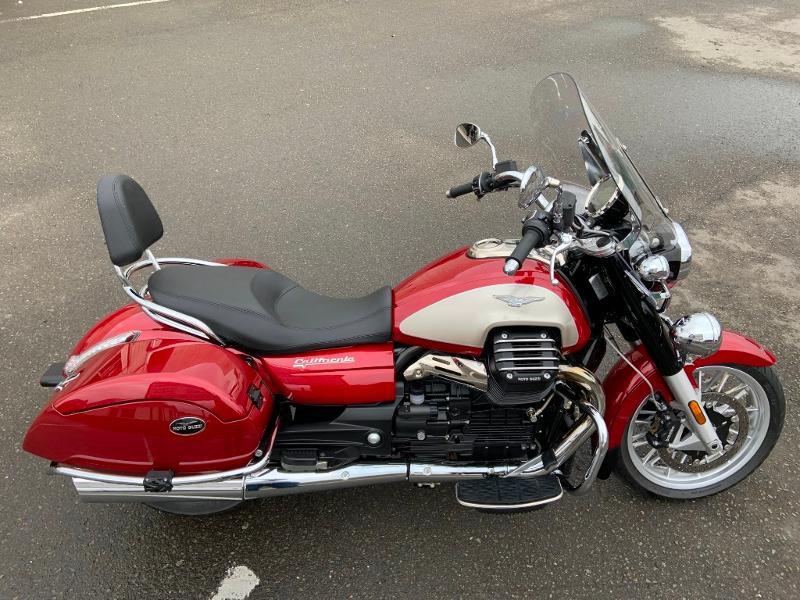 Photo 6 de l'offre de MOTO-GUZZI California 1400 Touring ABS 1ERE MAIN à 16990€ chez Franck motos