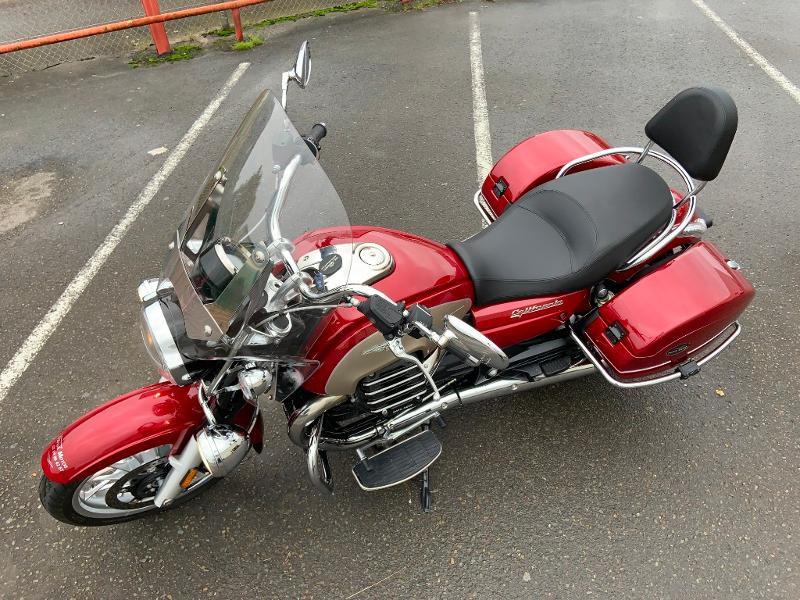 Photo 3 de l'offre de MOTO-GUZZI California 1400 Touring ABS 1ERE MAIN à 16990€ chez Franck motos