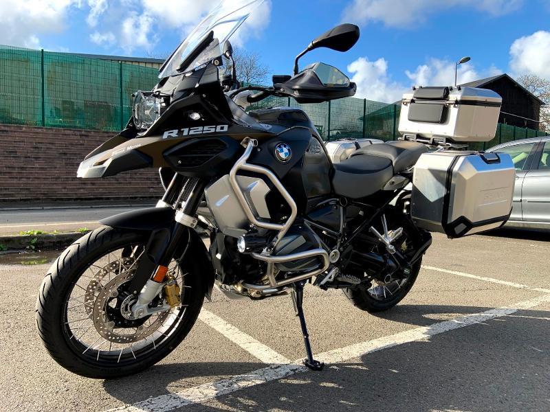 Photo 4 de l'offre de BMW R 1250 GS Adventure full Style Exclusif 1ere main à 22990€ chez Franck motos