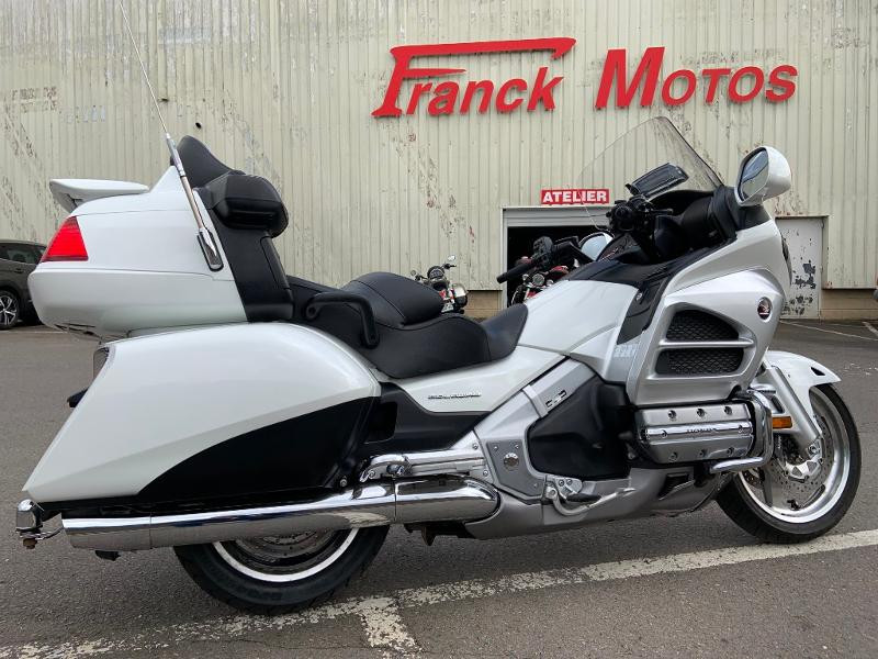 Honda GL Goldwing 1800 C-ABS 2012 Essence BLANCHE Occasion à vendre