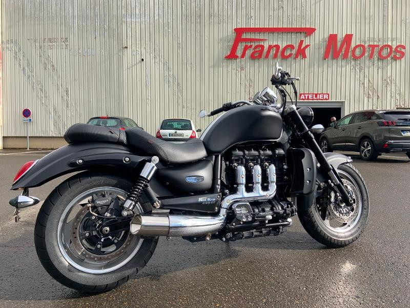 Triumph Rocket III black Matt 2016 Essence NOIR MATT Occasion à vendre