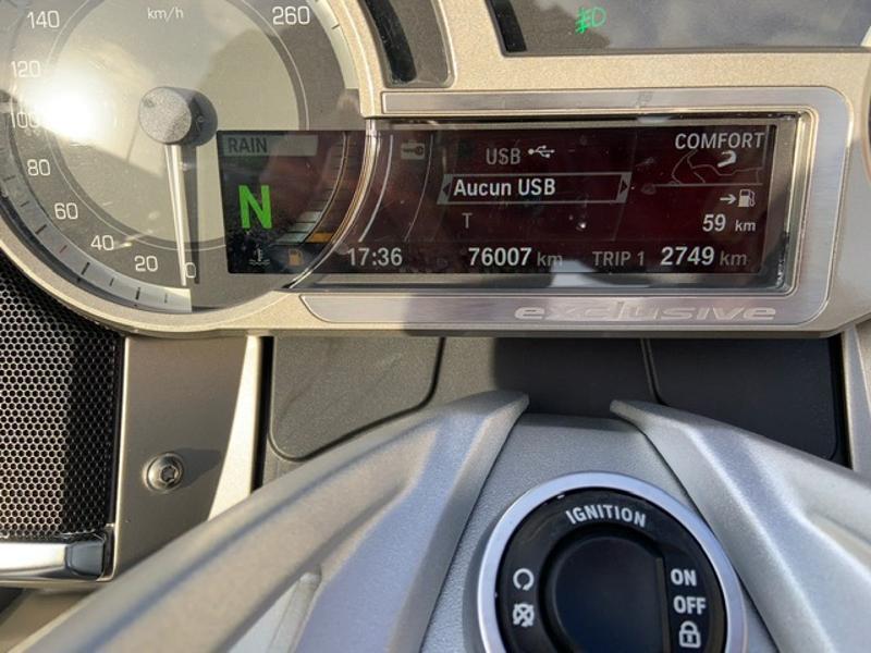 Photo 10 de l'offre de BMW K 1600 GTL Exclusive à 13900€ chez Franck motos