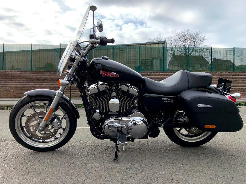Photo 5 de l'offre de HARLEY-DAVIDSON Sportster 1200 T Superlow 1ERE MAIN à 11290€ chez Franck motos