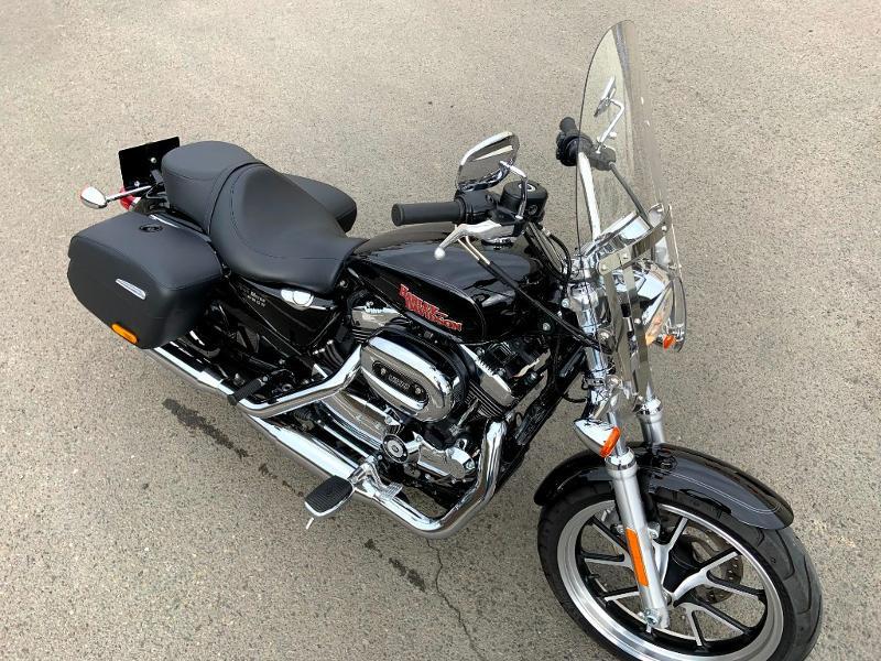 Photo 3 de l'offre de HARLEY-DAVIDSON Sportster 1200 T Superlow 1ERE MAIN à 11290€ chez Franck motos