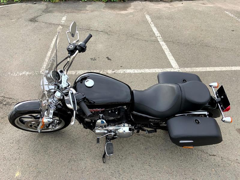 Photo 8 de l'offre de HARLEY-DAVIDSON Sportster 1200 T Superlow 1ERE MAIN à 11290€ chez Franck motos