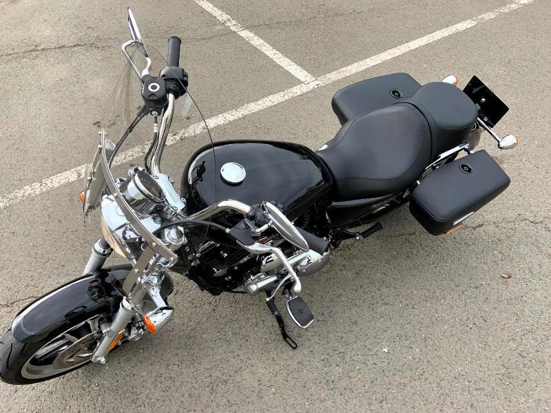 Photo 7 de l'offre de HARLEY-DAVIDSON Sportster 1200 T Superlow 1ERE MAIN à 11290€ chez Franck motos