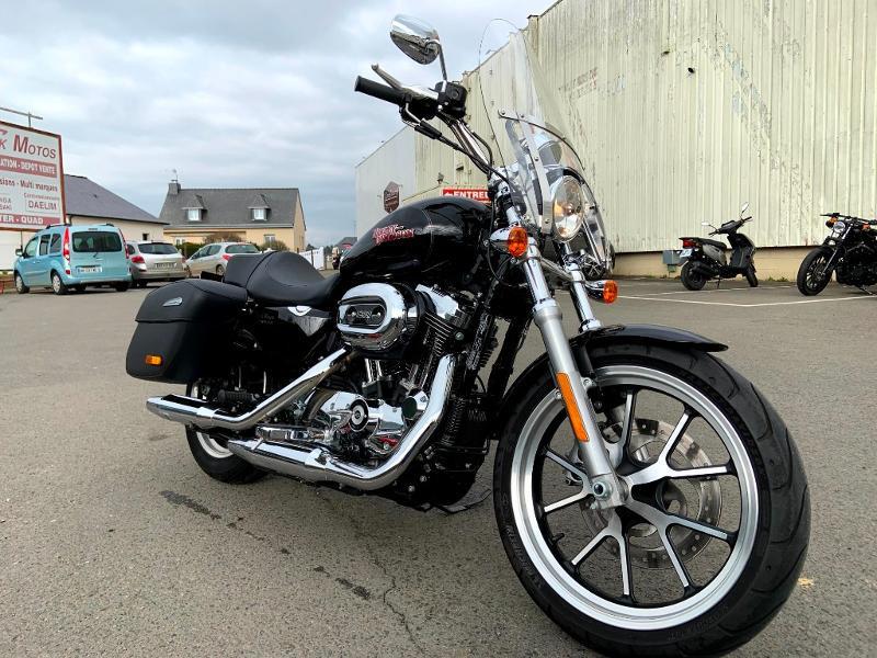Photo 2 de l'offre de HARLEY-DAVIDSON Sportster 1200 T Superlow 1ERE MAIN à 11290€ chez Franck motos
