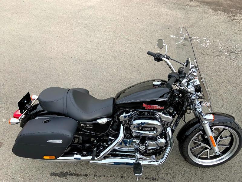 Photo 4 de l'offre de HARLEY-DAVIDSON Sportster 1200 T Superlow 1ERE MAIN à 11290€ chez Franck motos