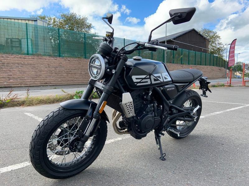 Photo 6 de l'offre de BRIXTON 500 CROSSFIRE X A2 à 6190€ chez Franck motos