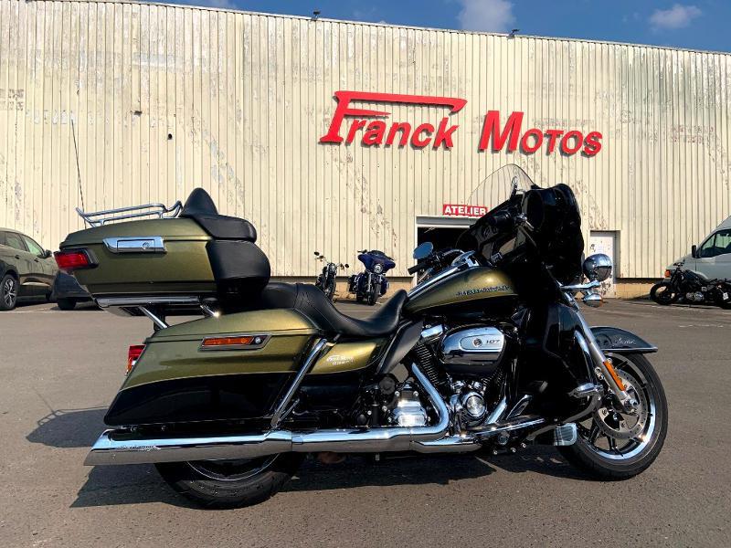 Harley-Davidson Electra Gld Ult Ltd 1745 Low 1ERE MAIN Essence OLIVE/BLACK Occasion à vendre
