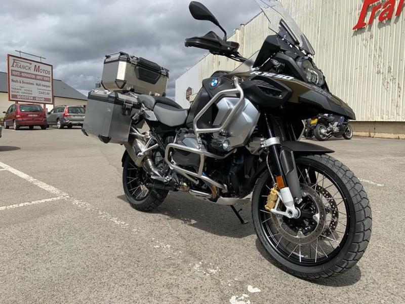 Photo 2 de l'offre de BMW R 1250 GS Adv Style Exclusif 1ERE MAIN à 22490€ chez Franck motos