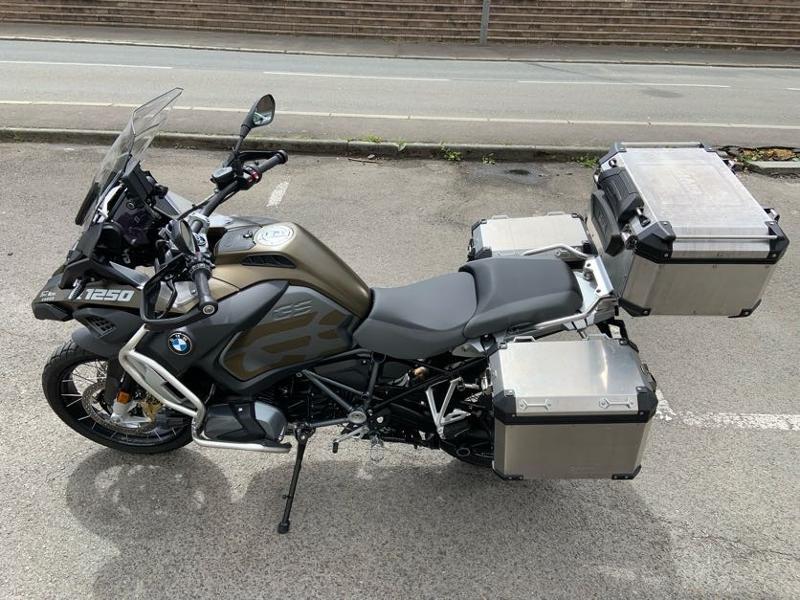 Photo 8 de l'offre de BMW R 1250 GS Adv Style Exclusif 1ERE MAIN à 22490€ chez Franck motos