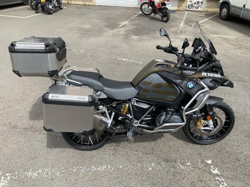 Photo 4 de l'offre de BMW R 1250 GS Adv Style Exclusif 1ERE MAIN à 22490€ chez Franck motos