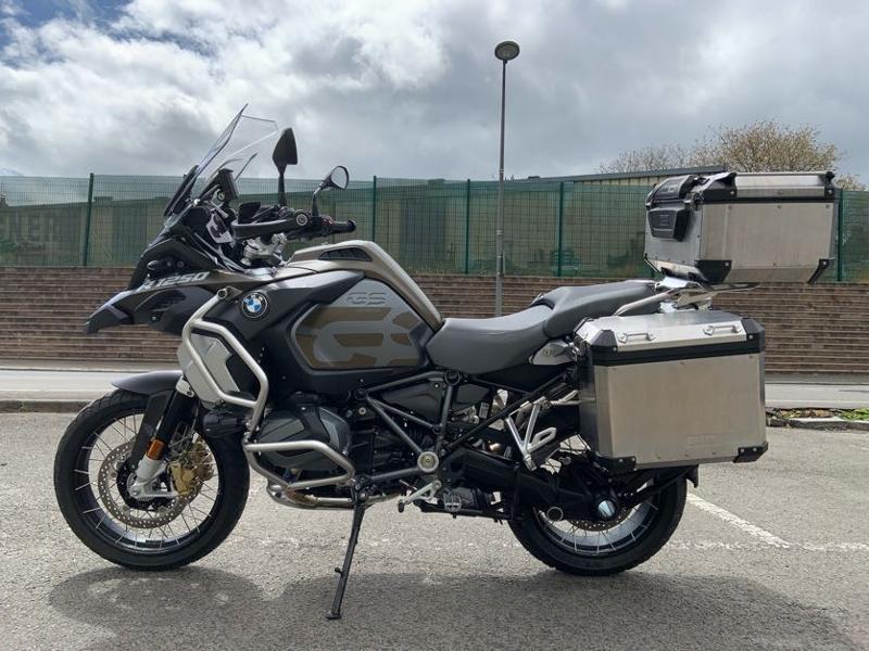 Photo 5 de l'offre de BMW R 1250 GS Adv Style Exclusif 1ERE MAIN à 22490€ chez Franck motos
