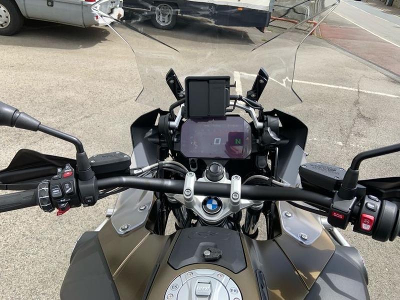 Photo 9 de l'offre de BMW R 1250 GS Adv Style Exclusif 1ERE MAIN à 22490€ chez Franck motos