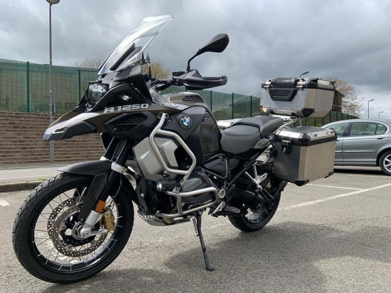 Photo 6 de l'offre de BMW R 1250 GS Adv Style Exclusif 1ERE MAIN à 22490€ chez Franck motos