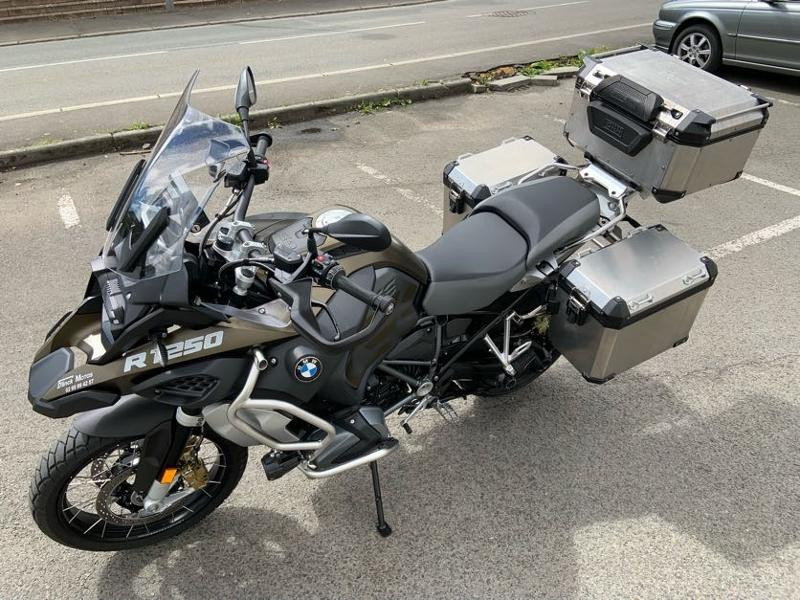 Photo 7 de l'offre de BMW R 1250 GS Adv Style Exclusif 1ERE MAIN à 22490€ chez Franck motos