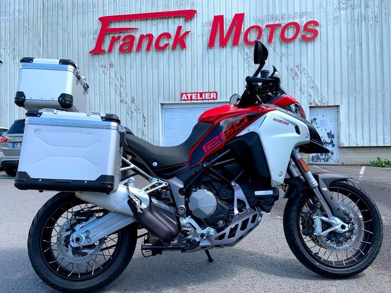 Ducati Multistrada 1260 Enduro Pack Touring ABS Essence ROUGE Occasion à vendre