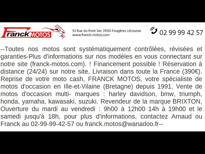 Photo 10 de l'offre de HARLEY-DAVIDSON Xl 1200 C (A2) à 12890€ chez Franck motos