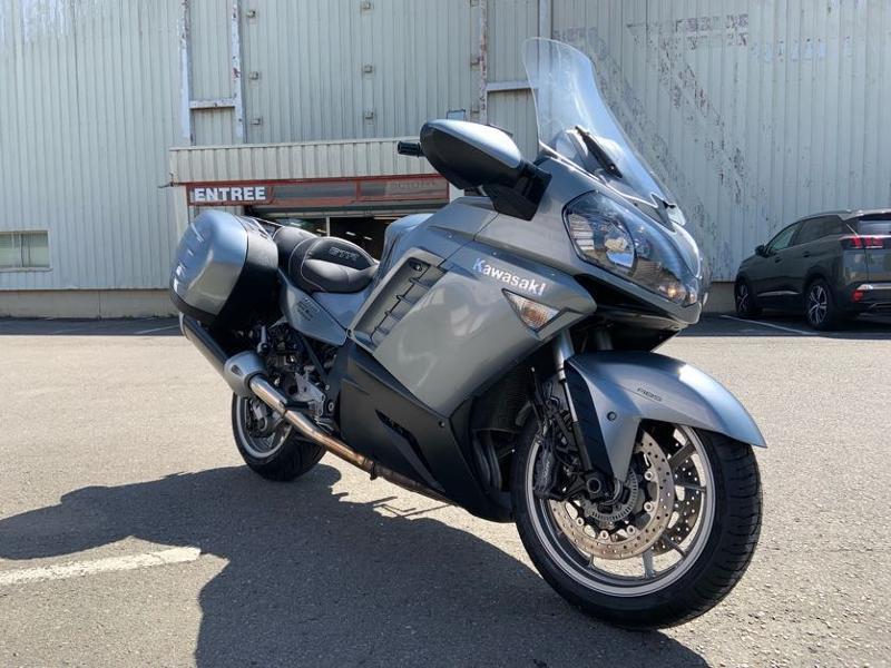 Photo 6 de l'offre de KAWASAKI GTR 1400 à 5990€ chez Franck motos
