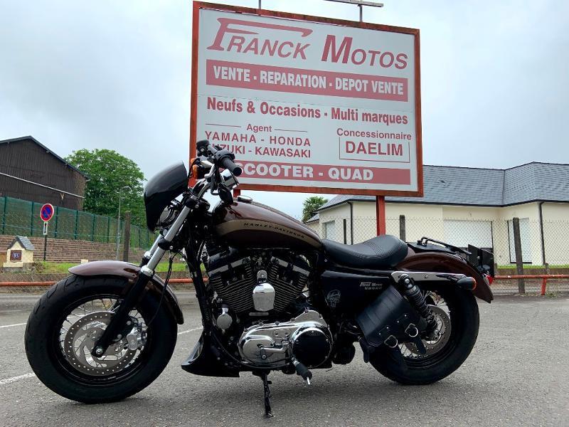Photo 1 de l'offre de HARLEY-DAVIDSON Xl 1200 C (A2) à 12890€ chez Franck motos